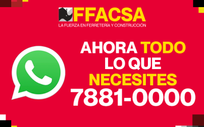 Comunícate con nosotros por WhatsApp