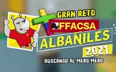 FELIZ DÍA DEL FFACSA ALBAÑIL, ¡VIVO TE QUIERO!